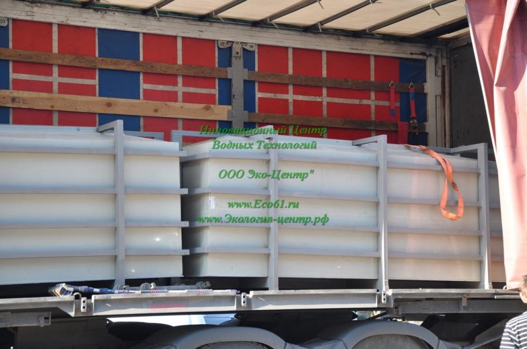 Пищевая емкость для транспортировки овощей 15м3